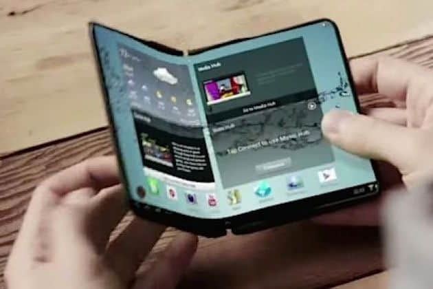 Samsung comes in November with the first foldable smartphone