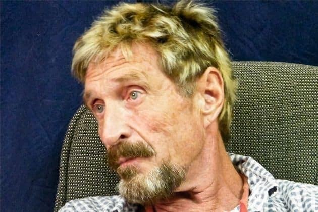 John McAfee arrested in Spain for tax evasion and other charges