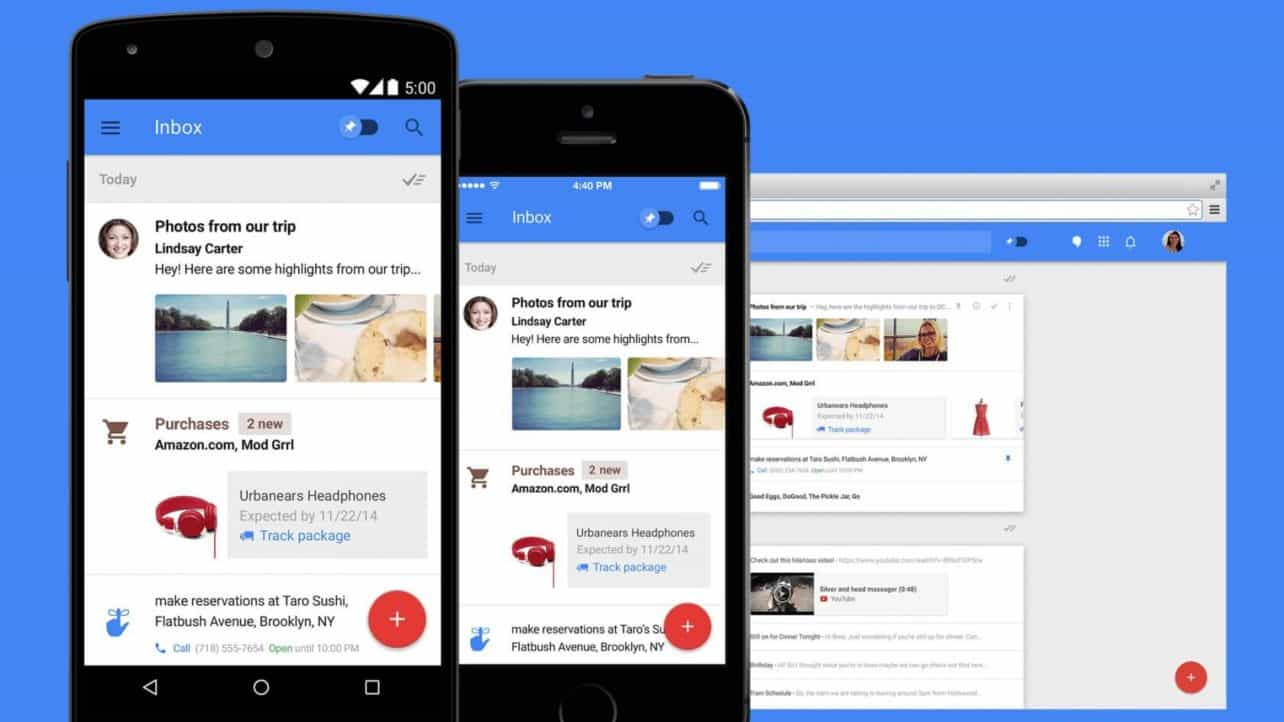 Google discontinues inbox mail service as of March 2019