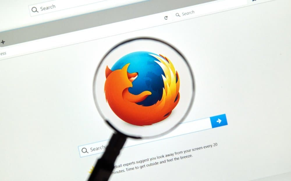 Search feature in Firefox will place markings on scroll bar