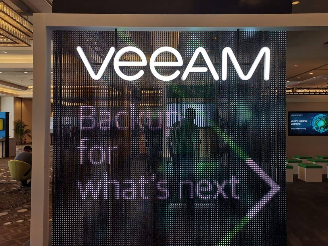 Veeam commits to Kubernetes Backup with Kasten acquisition