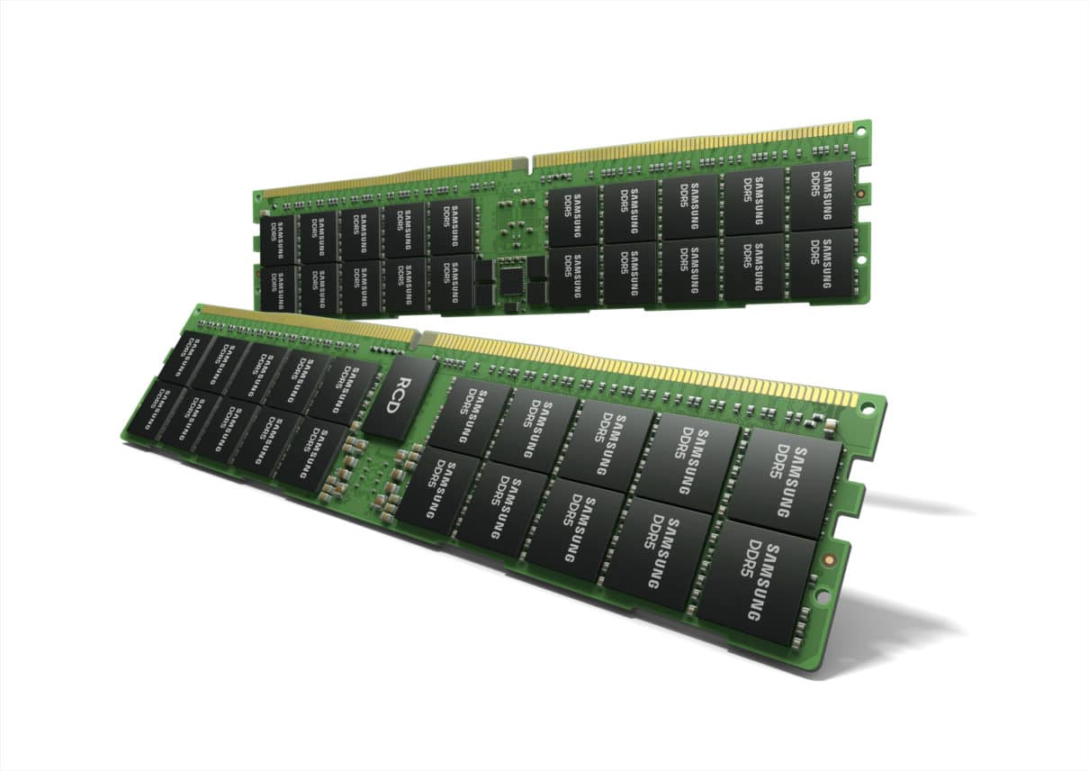 Samsung begins mass producing the most advanced 14nm EUV DDR5 DRAM